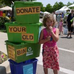Donate old bins to Farmington schools!