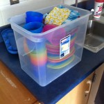 Reusable party packs reduce significant waste.