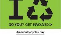 Celebrate America Recycle Day Nov. 15th
