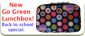 New Go Green lunchbox