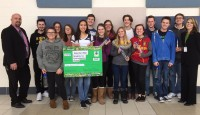 Waterford HS Wins Water Reduces Waste