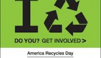 Celebrate America Recycle Day Nov. 15th